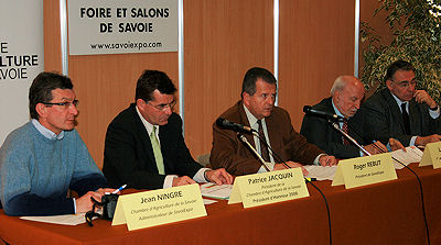 Savoiexpo 2008 foire salons et perspectives for Chambre agriculture savoie
