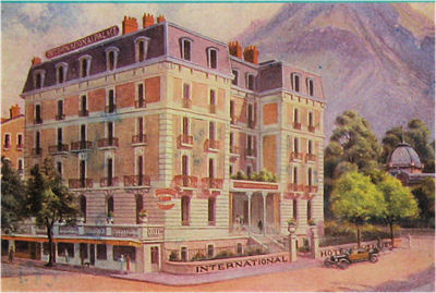 Renovation de l 39 hotel international aix les bains le for Hotel aixe les bains