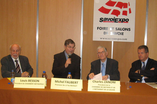 Une nouvelle dimension pour savoiexpo en 2009 for Chambre des metiers nice