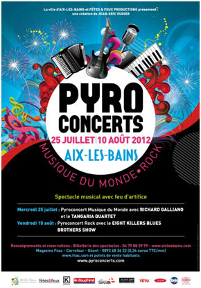 pyro concerts aix les bains. Black Bedroom Furniture Sets. Home Design Ideas