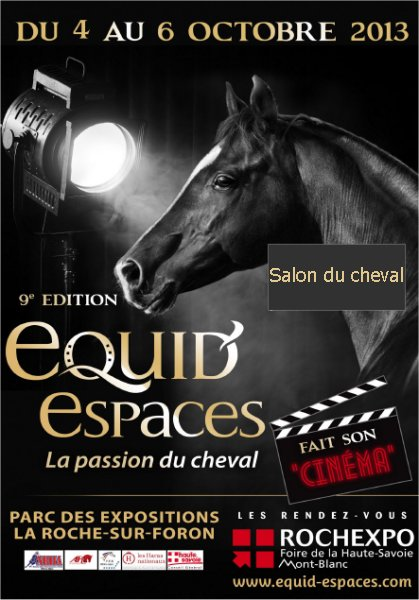 Le salon du cheval equid 39 espaces la roche sur foron - Salon roche sur foron ...