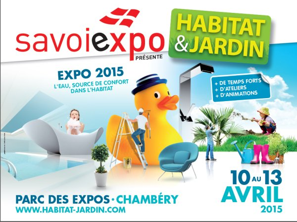 Le salon habitat jardin for Salon habitat chambery