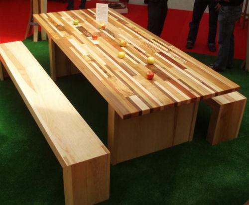 la table mariage des sens au salon meubles et decoration aix les bains. Black Bedroom Furniture Sets. Home Design Ideas