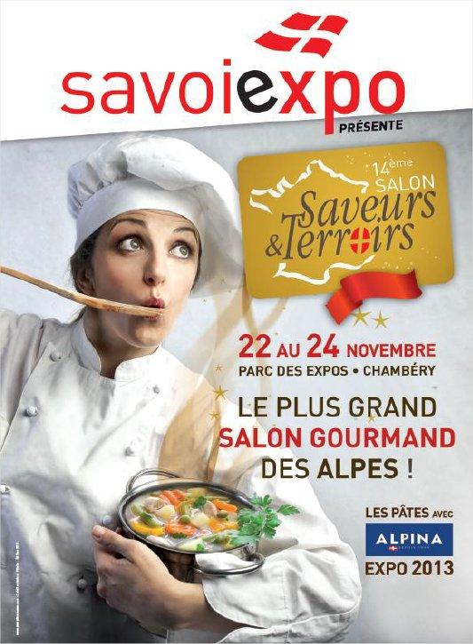 Salon saveurs et terroirs chamb ry savoie for Salon saveurs