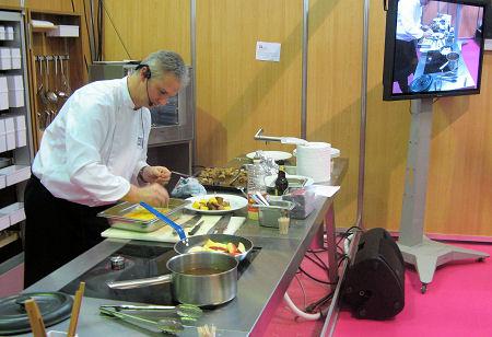 Quelques photos du salon saveurs et terroir 2009 qui a for Salon gastronomie nantes