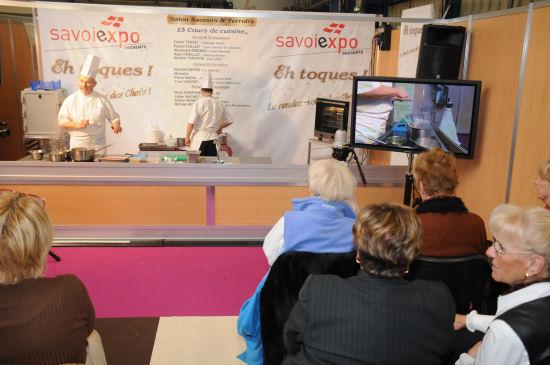 Salon saveurs et terroirs chamb ry savoie for Aix cuisine de terroir