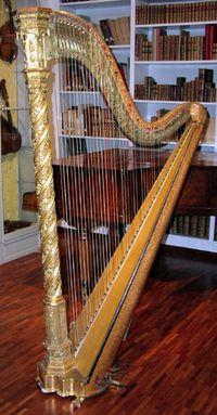 harpe double mouvement