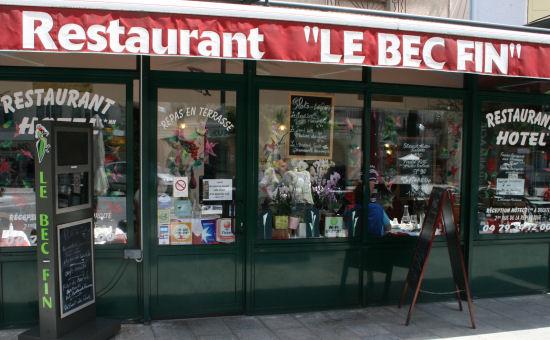 Restaurant restaurant le bec fin aix les bains - Restaurant la folie des grandeurs aix les bains ...